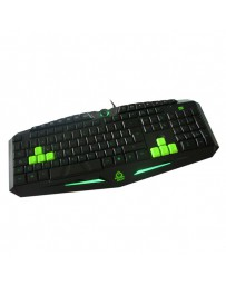 TECLADO KEEP OUT GAMING 3 PROF / 8 KEYS F85*