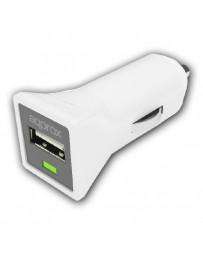 CARGADOR APPROX USB MECHERO COCHE APPUSBCARW BLANCO