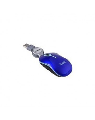 RATON HAVIT HV-M219 AZUL USB