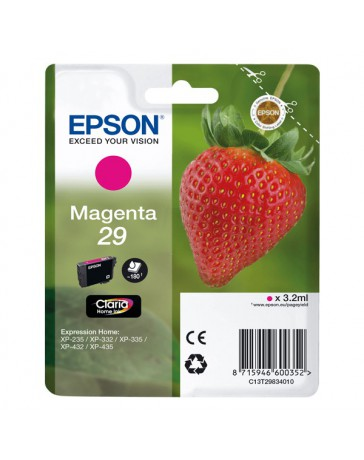 INK JET EPSON ORIGINAL C13T298340 MAGENTA XP235