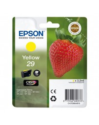 INK JET EPSON ORIGINAL C13T298440 AMARILLO XP235