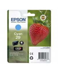 INK JET EPSON ORIGINAL C13T298240 CYAN XP235