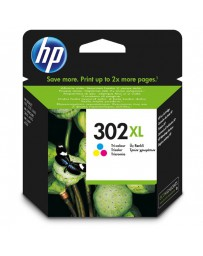 INK JET HP ORIG. F6U65AE Nº302XL COLOR