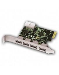 TARJETA APPROX PCIE 4 PTO USB 3.0 APPPCIE4P