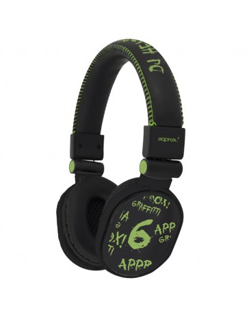 AURICULARES APPROX DJ GRAFFITI APPDJGGP PISTA