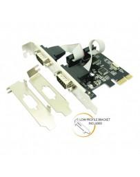 TARJETA APPROX PCIE 2 PUERTO SERIE APPPCIE2S