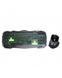 TECLADO KEEP OUT GAMING F80S+ RATON X2 PACK*