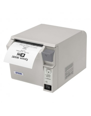 IMPRESORA TICKETS EPSON TM-T70II USB+RS232 BLANCA
