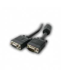 CABLE MONITOR XGA DB15M/DB15H 10MT C/FERRITA
