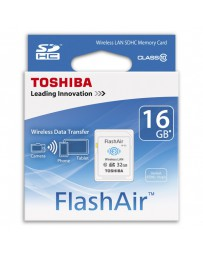 SDHC WIFI LAN TOSHIBA FLASHAIR 16GB CLASE 10