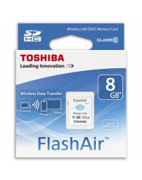 SDHC WIFI LAN TOSHIBA FLASHAIR 8GB CLASE 10
