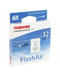 SDHC WIRELESS LAN TOSHIBA FLASHAIR 32GB CLASE 10