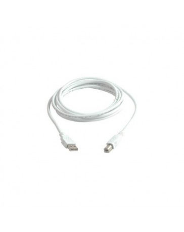 CABLE USB TIPO A/B 5 METROS M/M GRIS 2.0