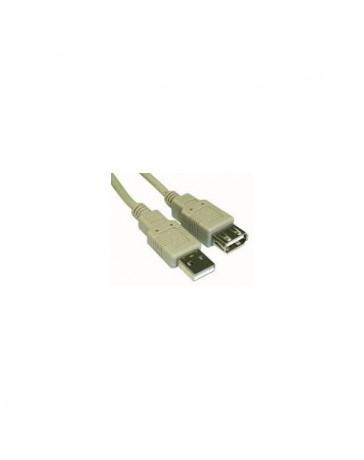 CABLE USB 5 METROS ALARGADOR A-A,M/H, 2.0