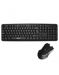 TECLADO+ RATON APPROX WIRED ECO APPKBECOKIT NEGRO