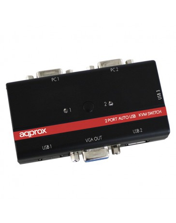 SWITCH APPROX KVM USB/VGA APPKVMUSB2PA2