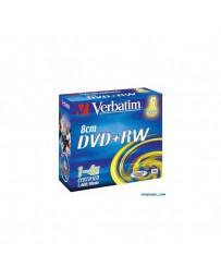 DVD+RW VERBATIM 8CM SLIM CASE 5
