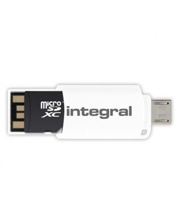 LECTOR DE TARJETAS USB 2.0 OTG MICROSDHC / XC