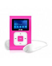 MP3 SPC CLIP EXTREME 8GB GRAN PANTALLA RADIO FM 8648P ROSA*