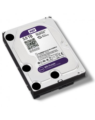 DISCO DURO WESTERN DIGITALPURPLE 3TB SATA 3.5""